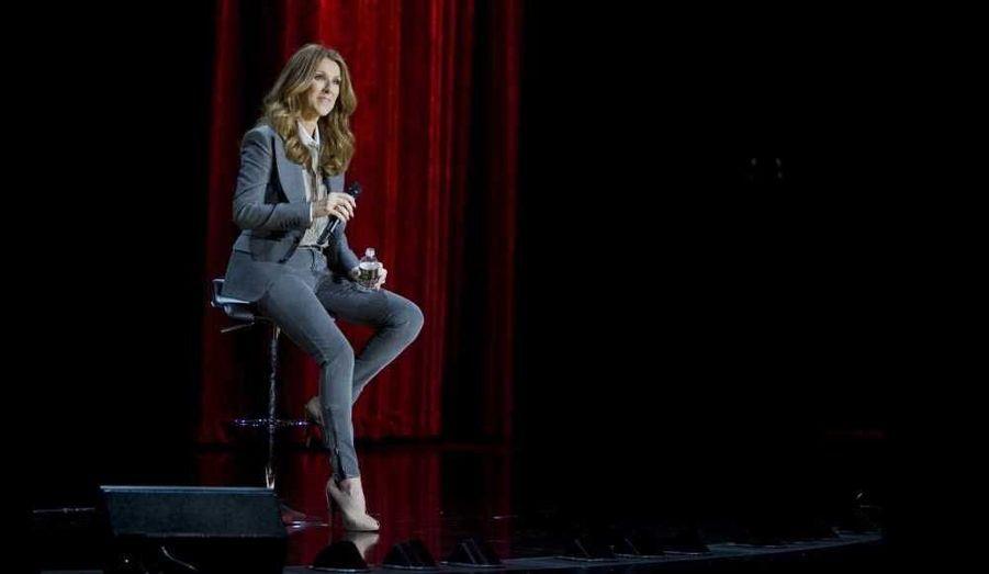Céline Dion a fait sa grande première hier soir au Colosseum du Caesar's Palace, où elle se produira pour les trois prochaines années...
