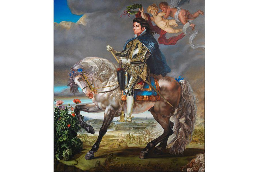 Portrait équestre du roi Philippe II(Michael Jackson)