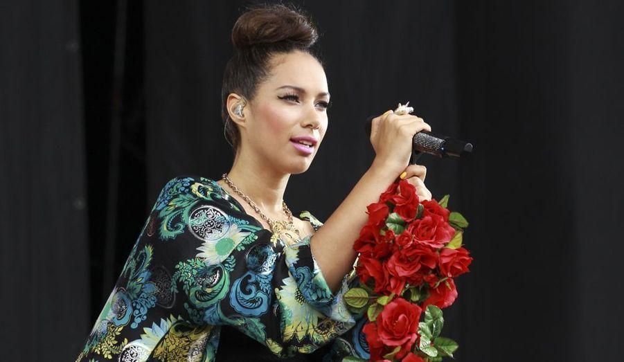 La chanteuse britannique Leona Lewis