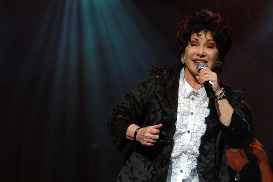 Rika Zaraï chante à Genève, en 2007.