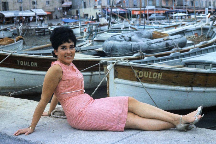 Rika Zaraï à Nice en 1963.