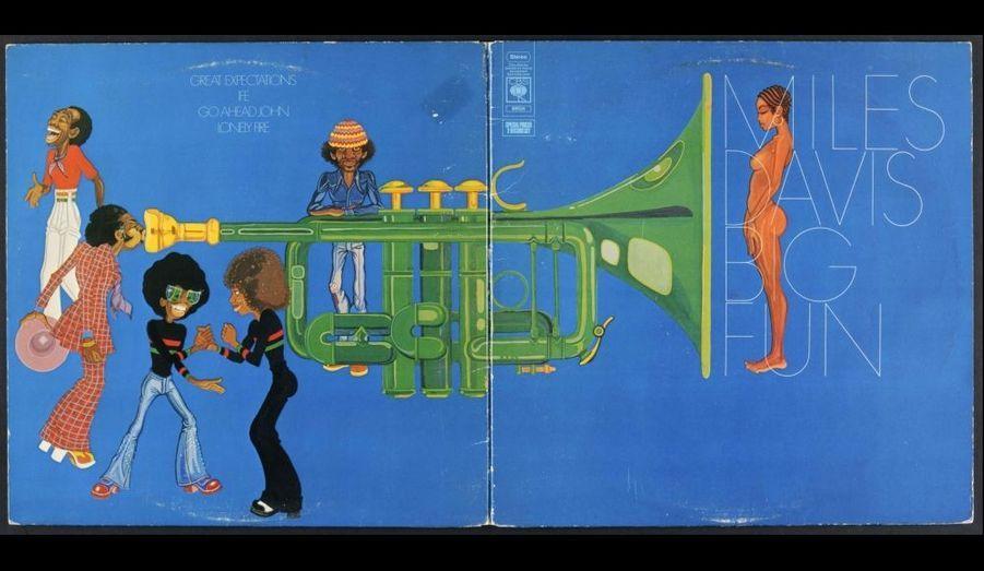 Pochette ouverte de l'album 33 tours « Big Fun » paru en 1974