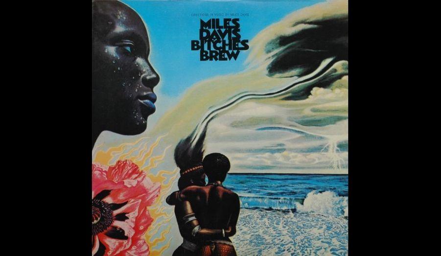Pochette de l'album 33 tours «Bitches Brew» paru en 1969