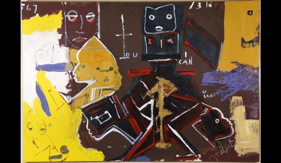 «I Can U Can't» tableau peint par Miles Davis en 1990