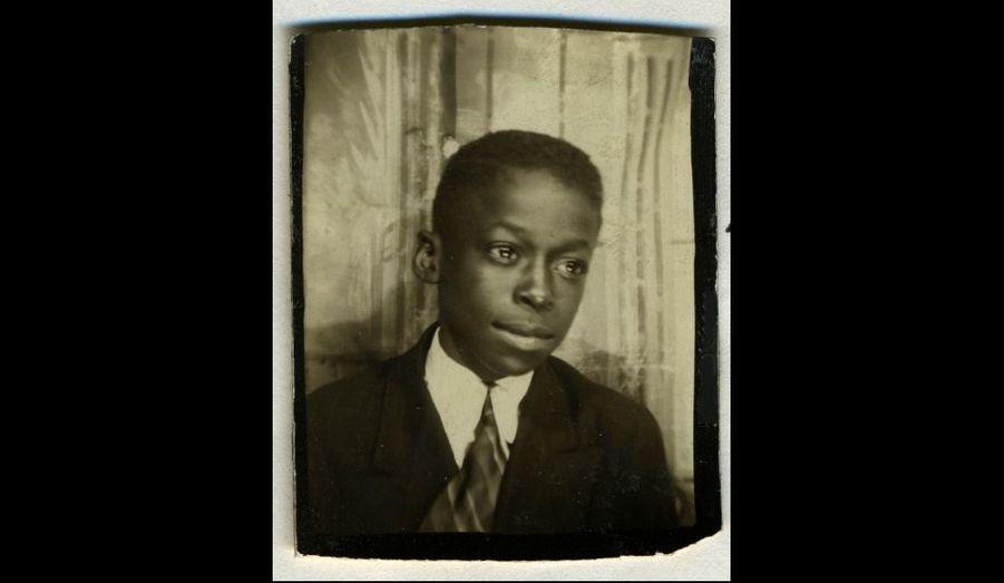 Miles Davis à 8 ou 9 ans