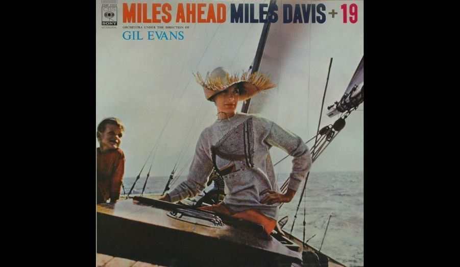 Pochette de l'album 33 tours «Miles Ahead» paru en 1957