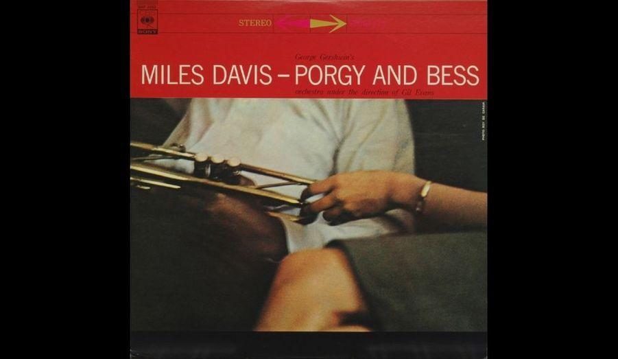 Pochette de l'album 33 tours «Porgy and Bess» paru en 1958