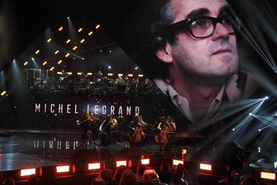 L'hommage à Michel Legrand.