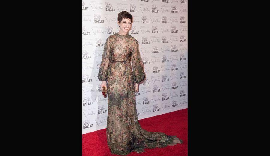La robe d'Anne Hathaway