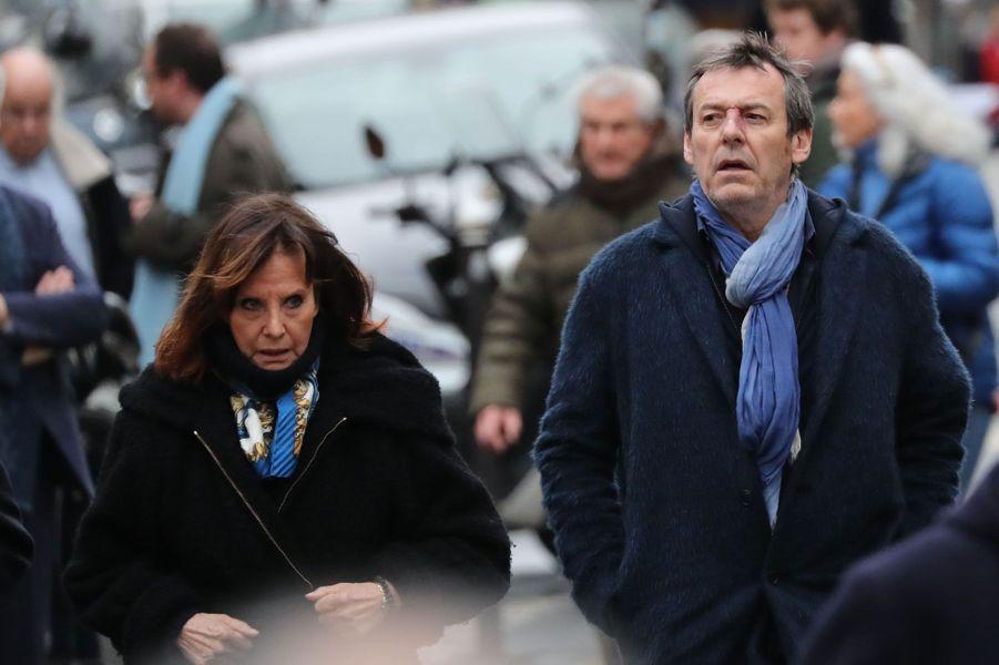 Denise Fabre et Jean-Luc Reichmann