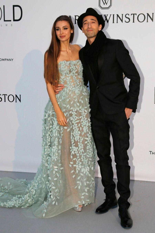 Adrien Brody et Lara Lieto