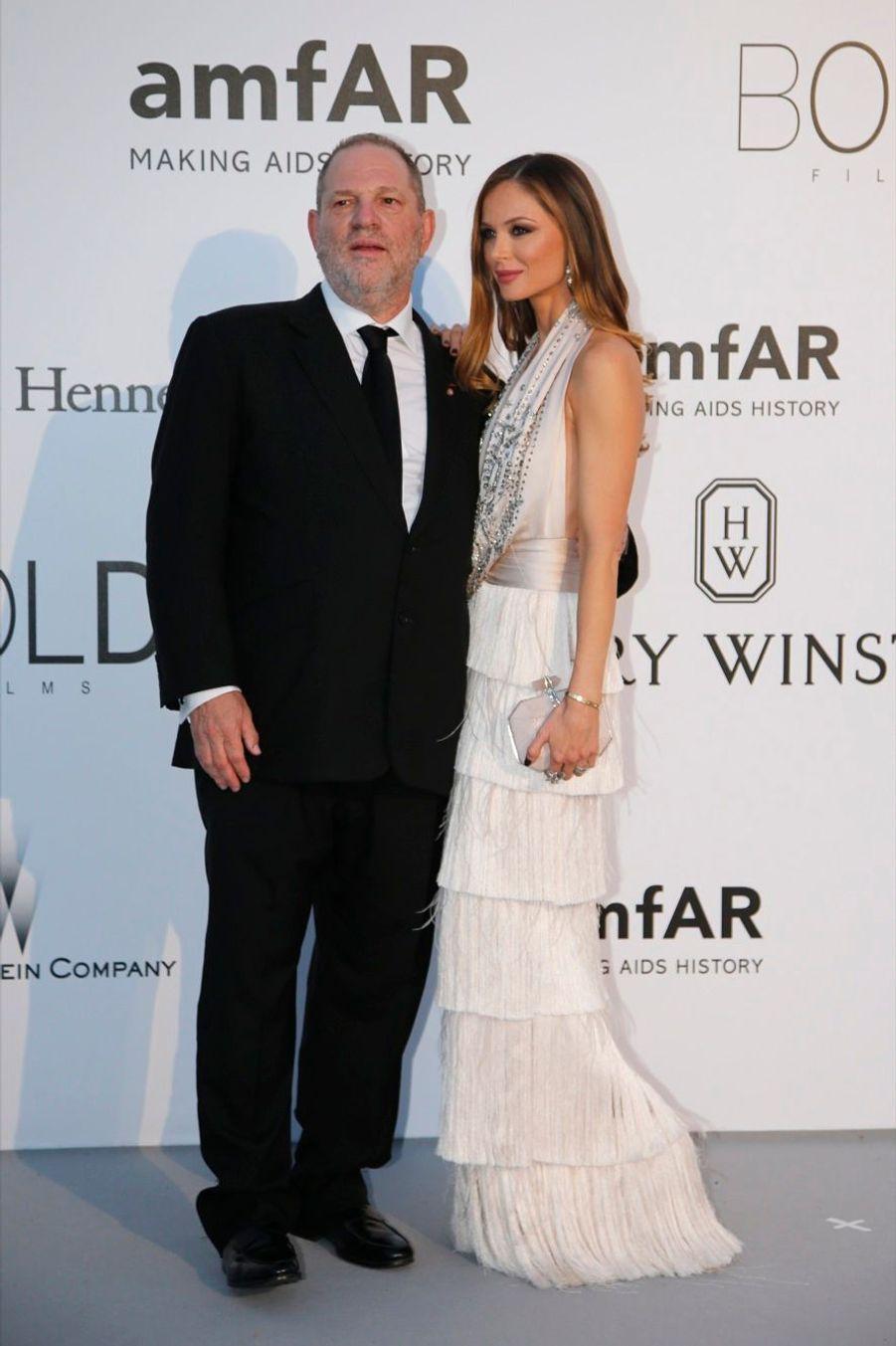 Harvey Weinstein et son épouse Georgina Chapman