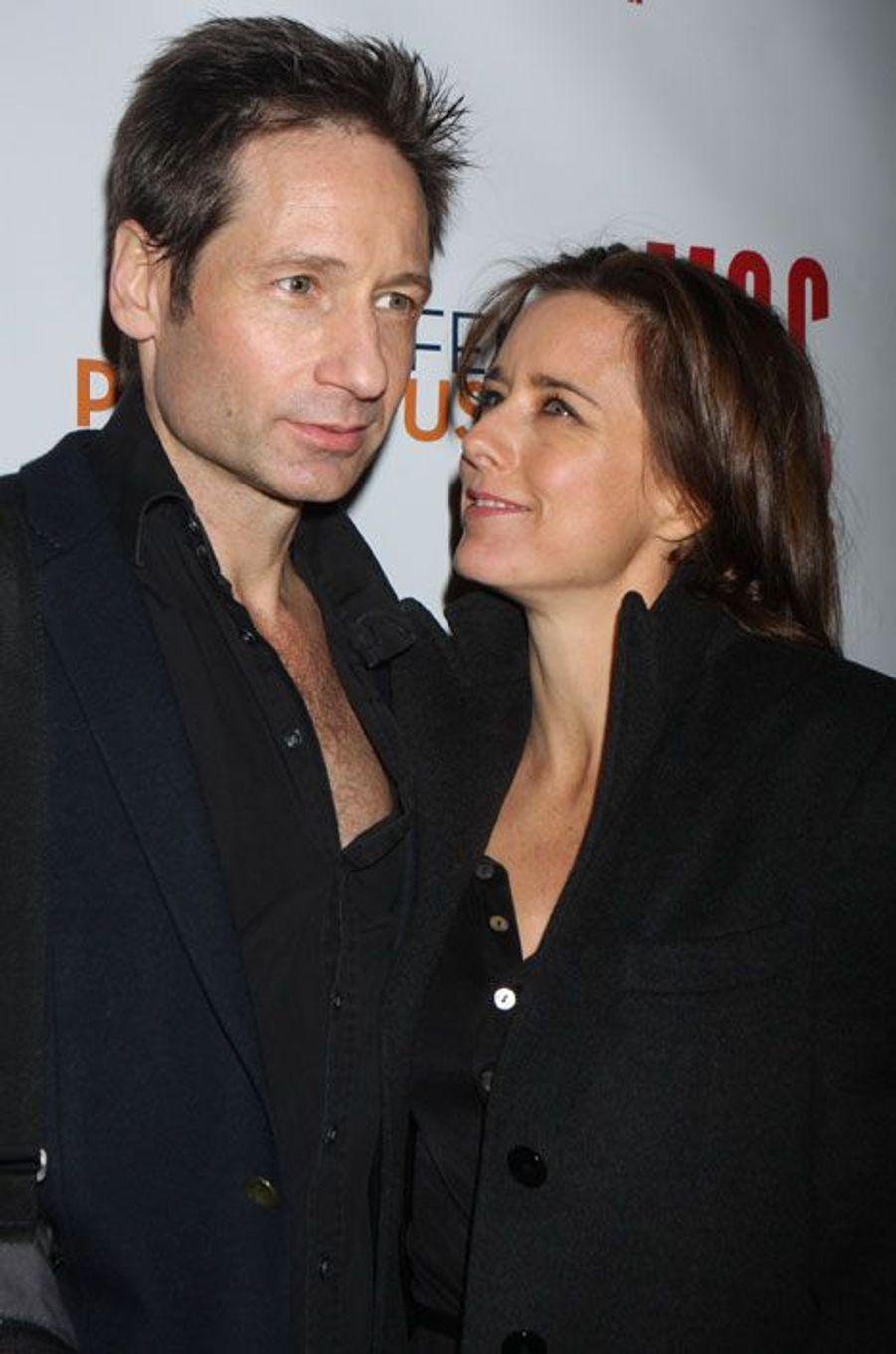 David Duchovny et Téa Leoni ont divorcé après 17 ans de mariage. Le couple était toutefois séparé depuis 2011, mais la procédure est passée complètement inaperçue à Hollywood, tous deux ayant réglé les détails de leur séparation à l'amiable et dans la plus grande discrétion.