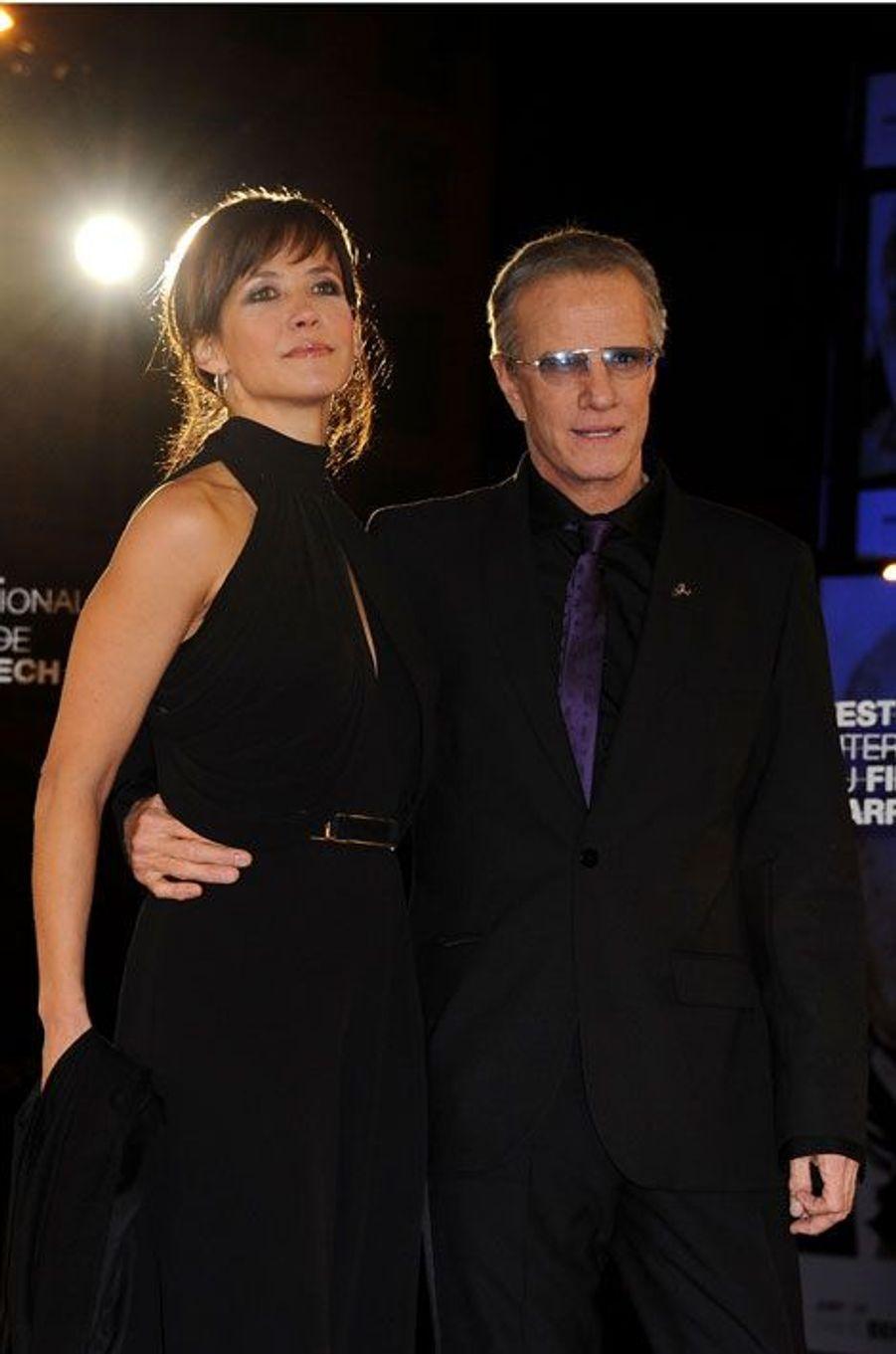 Le 11 juillet, Sophie Marceau et Christophe Lambert ont annoncé, dans un communiqué commun, leur «amicale séparation». Les deux acteurs, qui s'était formé sur le tournage de «La disparue de Deauville», en 2007, ont assuré qu'ils restaient «très bons amis».