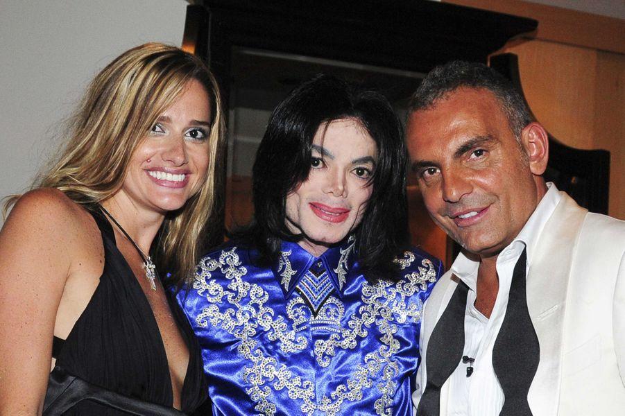 Avec Michael Jackson