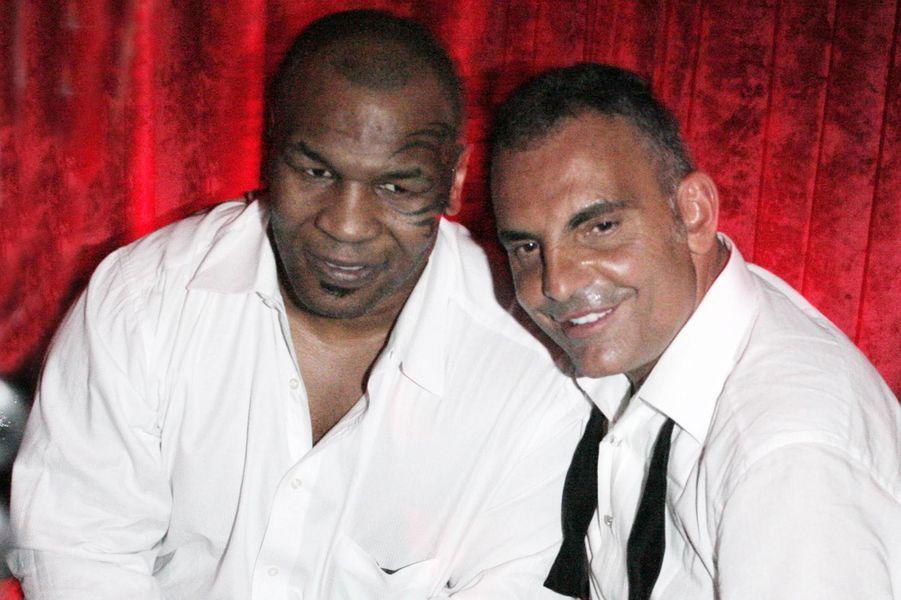 Avec Mike Tyson