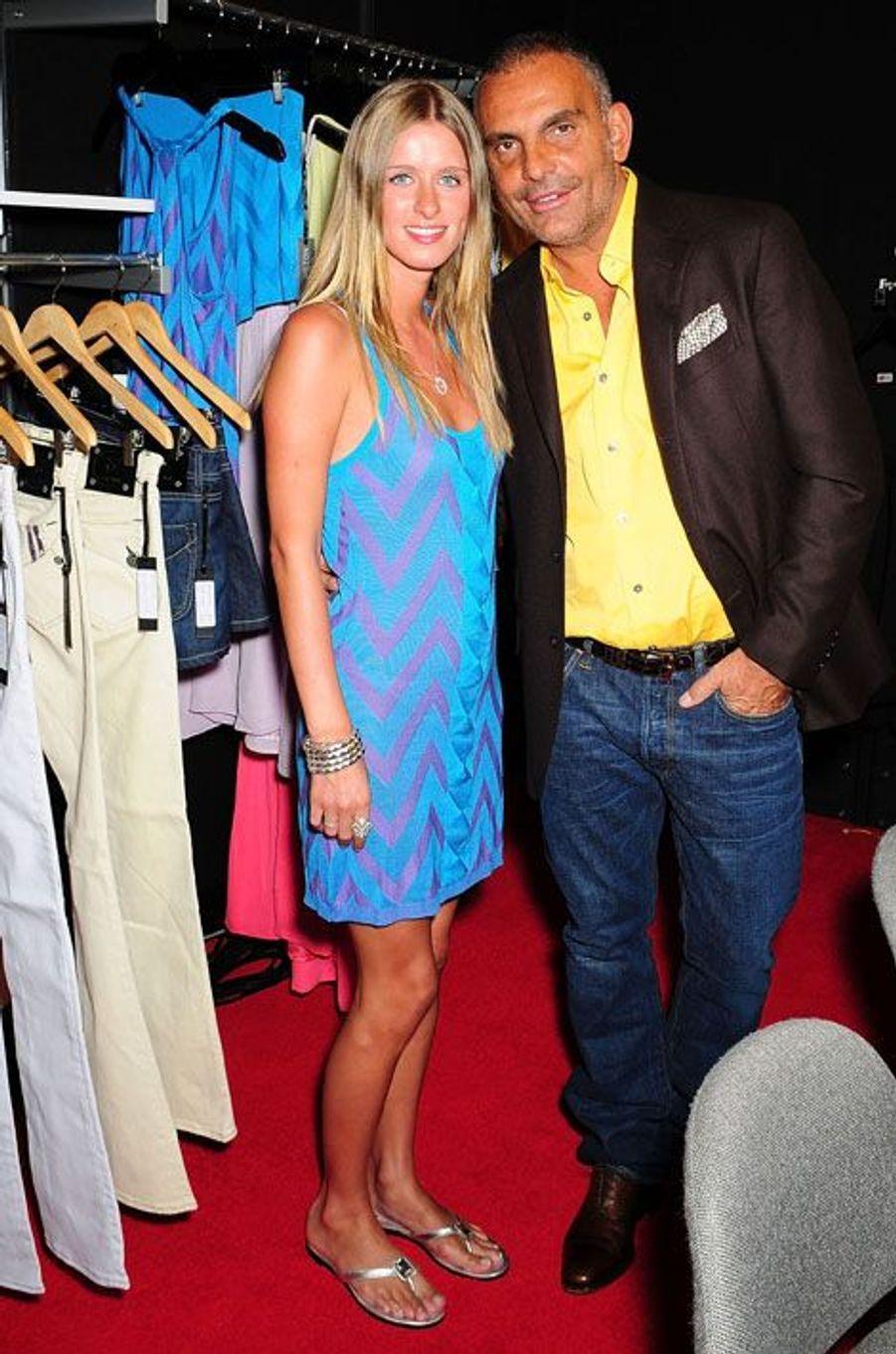 Avec Nicky Hilton