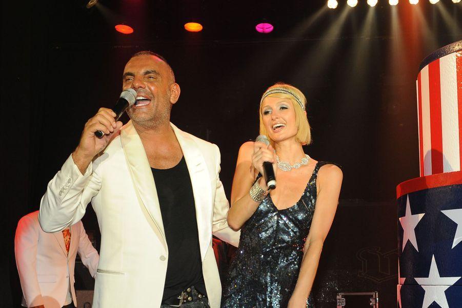 Avec Paris Hilton