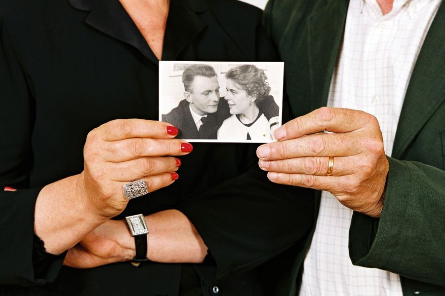 Sylvie Joly et son mari Pierre