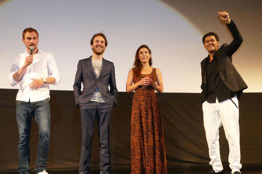 Jamel avec Paul Lefèvre, Antoine Gouy et Fanny Valette