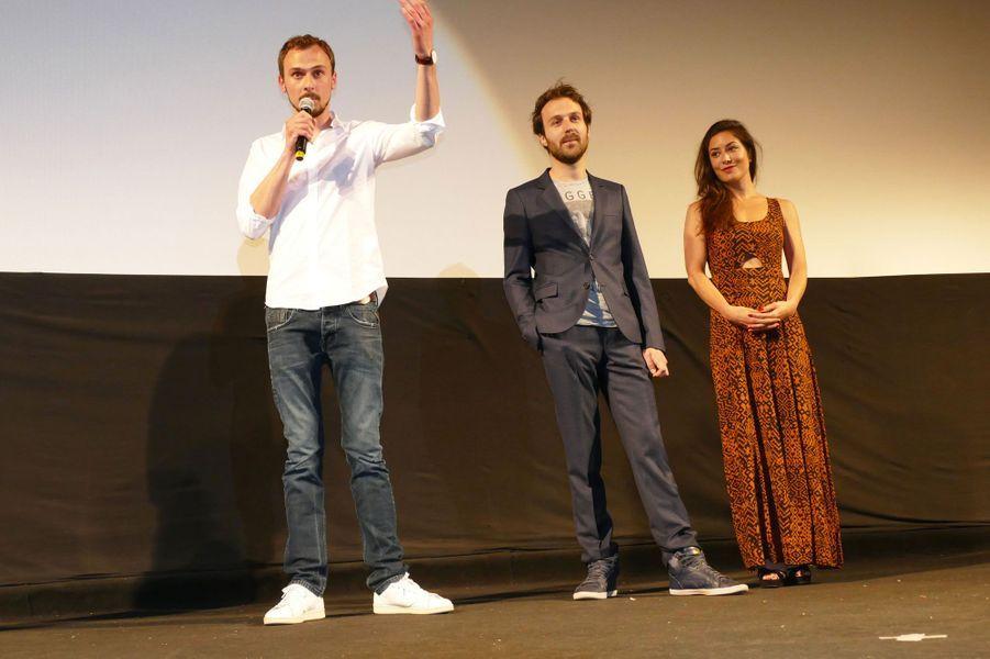 Paul Lefèvre, Antoine Gouy et Fanny Valette