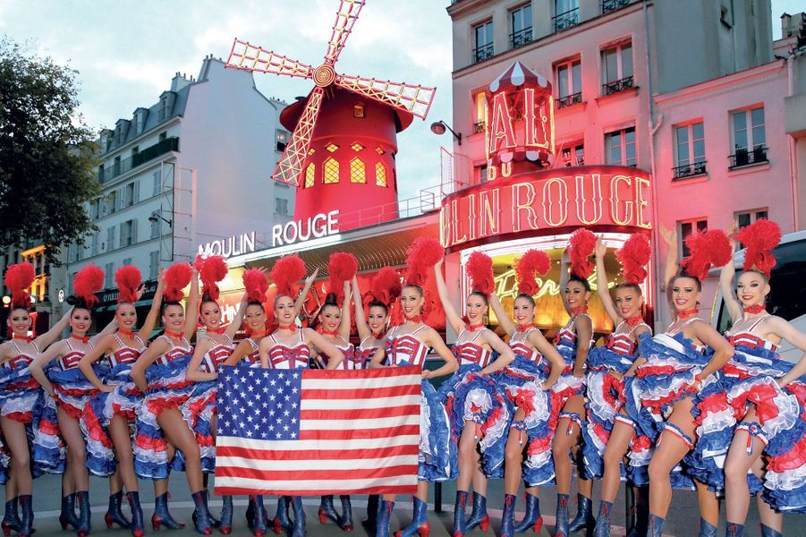 Les danseuses du Moulin Rouge, stars à New York