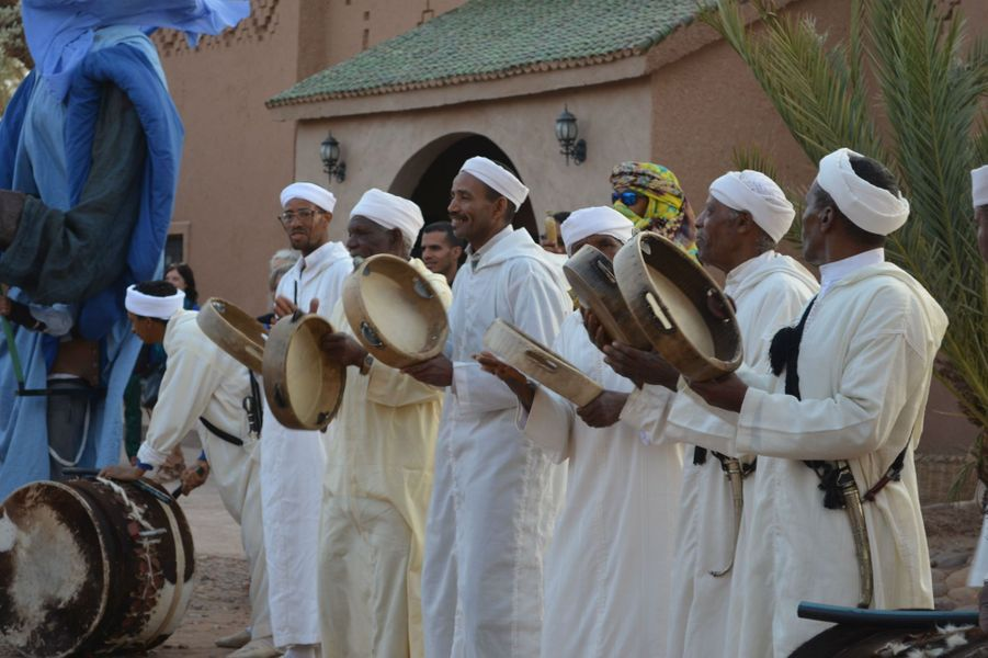 Festival international des Nomades à M'hamid El Ghizlane, Zagora, Maroc. Mars 2017.