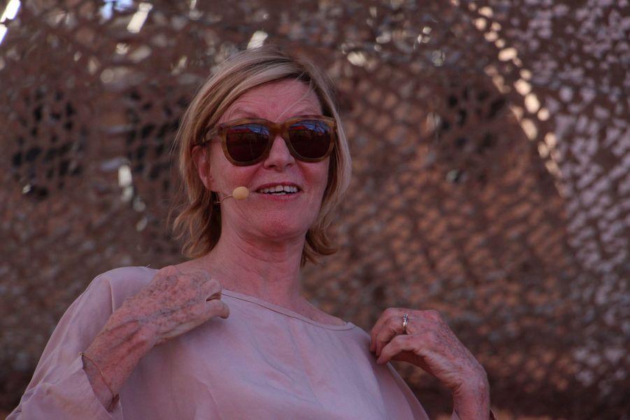 Chantal Ladesou lors des répétitions du gala du Marrakech du rire 2017, le 30 juin 2017 à Marrakech.