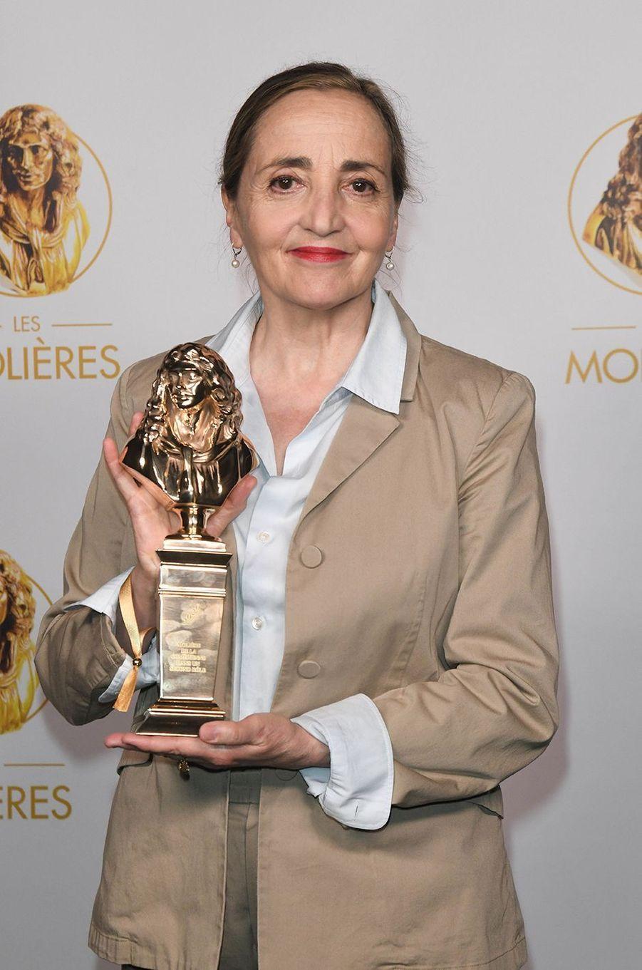 Dominique Blanc,Molière de la Comédienne dans un second rôle pour «Angels in America»