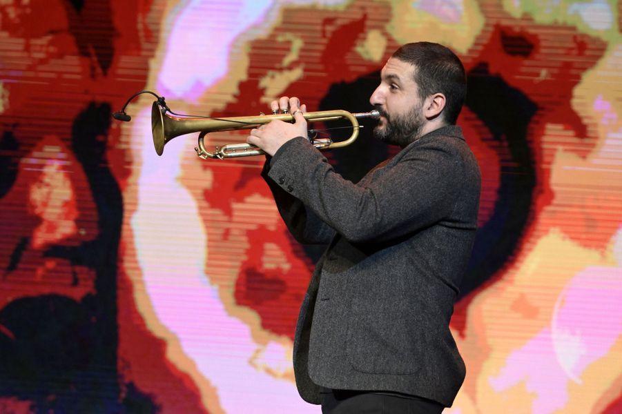 Ibrahim Maalouflors de la6e édition de la Nuit de la déprime organisée au Casino de Paris le 11 février 2019