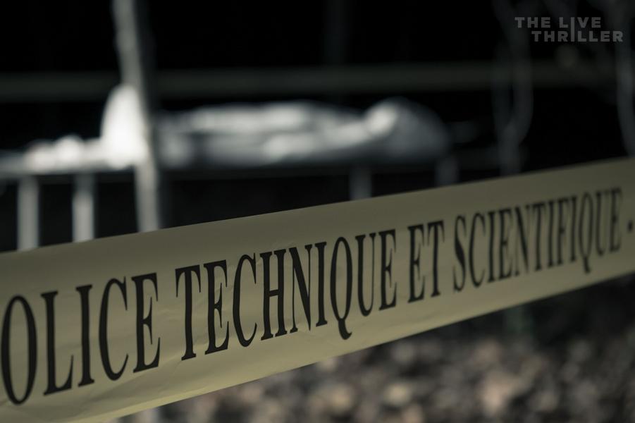 """""""The Live Thriller"""", l'enquête criminelle dont vous êtes le héros."""
