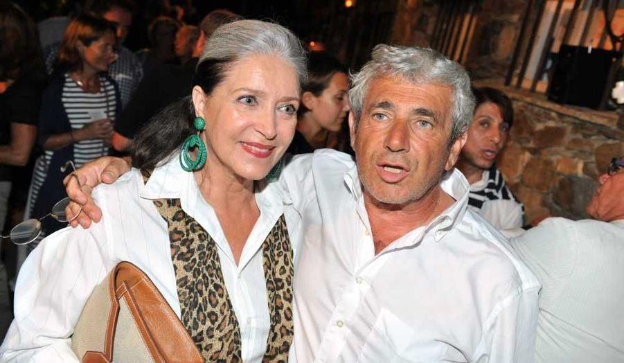 Le 5 août, Michel Boujenah (ici avec Françoise Fabian) a présenté une soirée humoristique animée par François-Xavier Demaison.