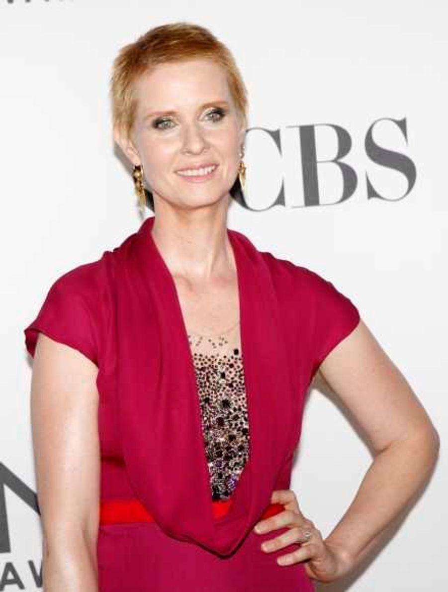 """La comédienne de """"Sex and the City"""" était nommée dans la catégorie meilleure actrice pour son rôle dans la pièce """"Wit""""."""