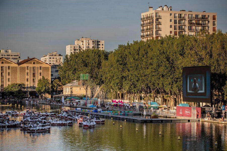 L'événement était organisé par Paris Plage.
