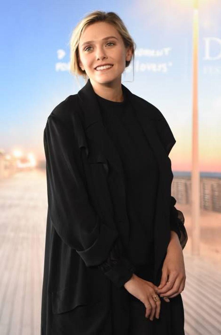 Deauville sous le charme d'Elizabeth Olsen