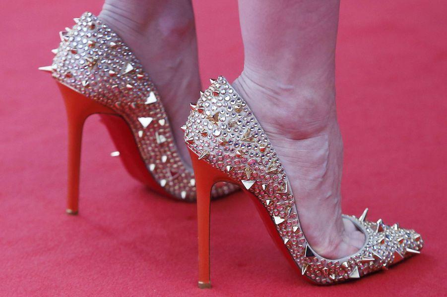 Les sublimes souliers de Jessica Chastain
