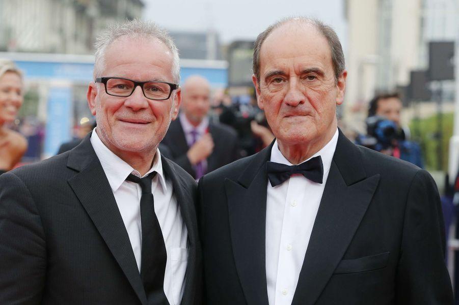 Thierry Frémaux et Pierre Lescure