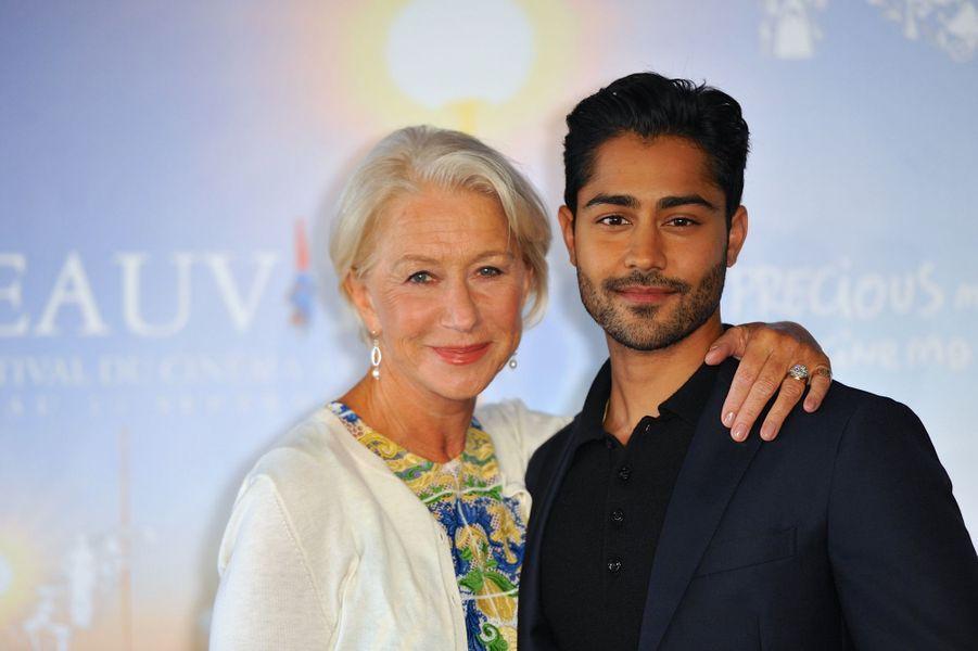Helen Mirren et Manish Dayal