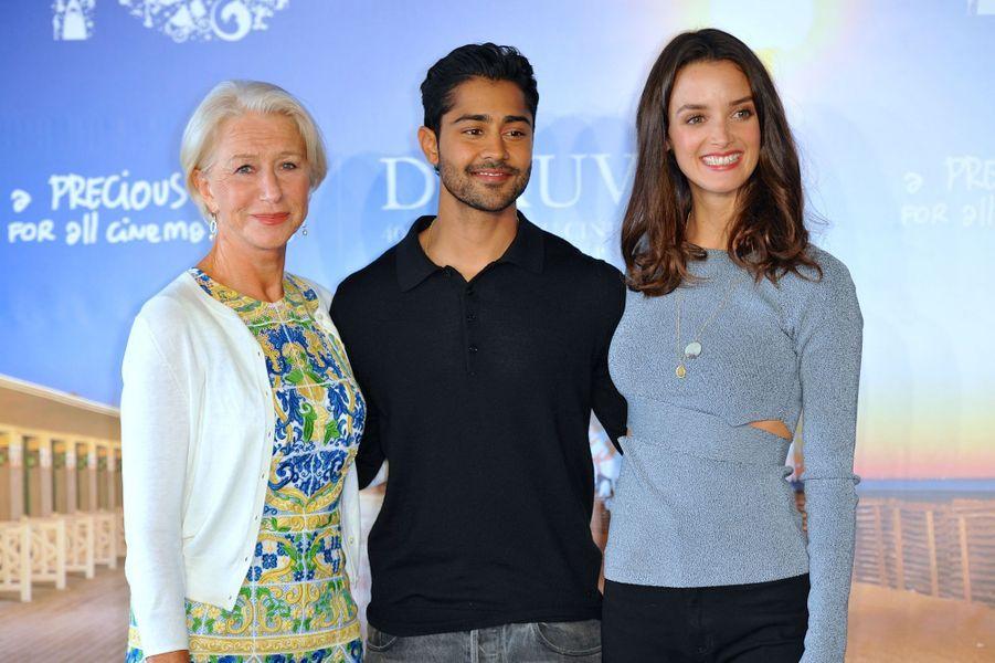 Helen Mirren, Manish Dayal et Charlotte Le Bon