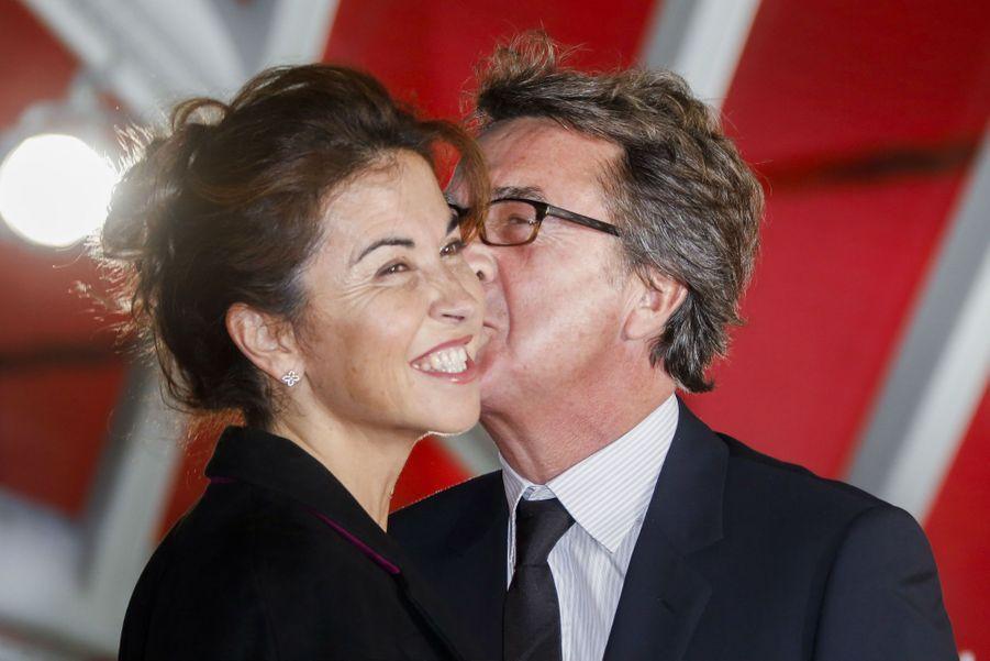 François Cluzet et sa compagne