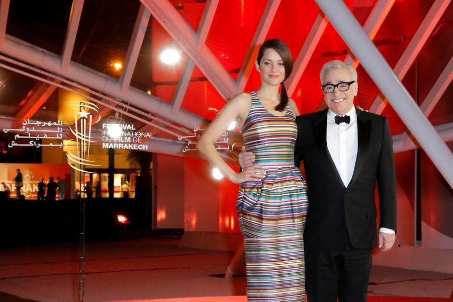 Aux côtés de Martin Scorsese
