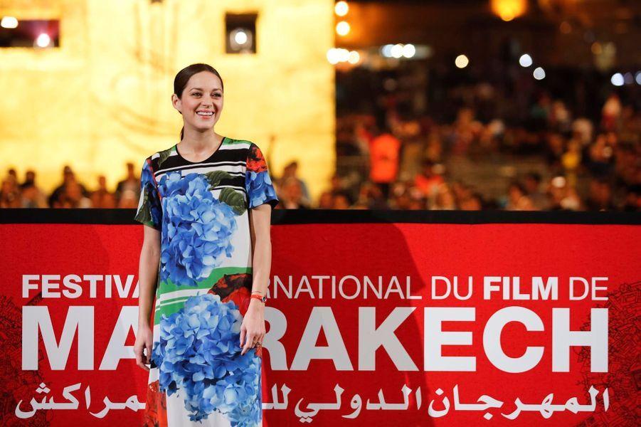 "Marion Cotillard, une ""Môme"" à Marrakech"
