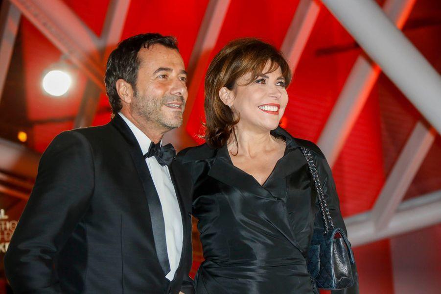 Bernard Montiel et Liane Foly