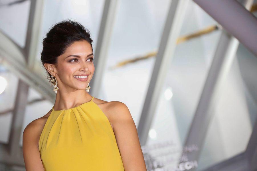 """La star féminine du film d'ouverture indien """"Ram-Leela"""" a été acclamée par le public."""