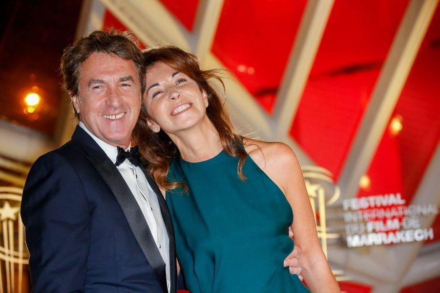 François Cluzet et son épouse
