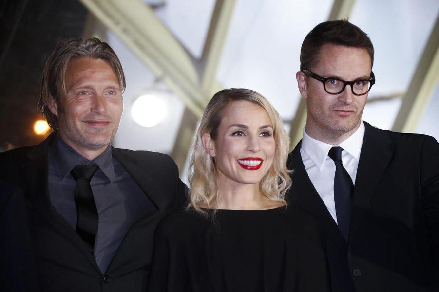 Mads Mikkelsen, Noomi Rapace et Nicolas Winding Refn