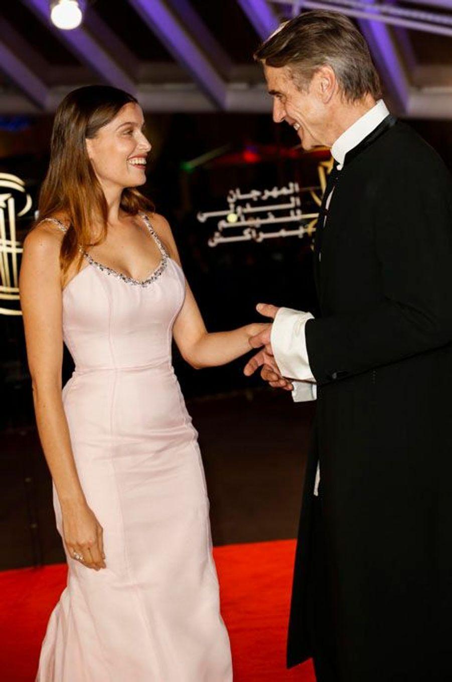 Laetitia Casta et Jeremy Irons