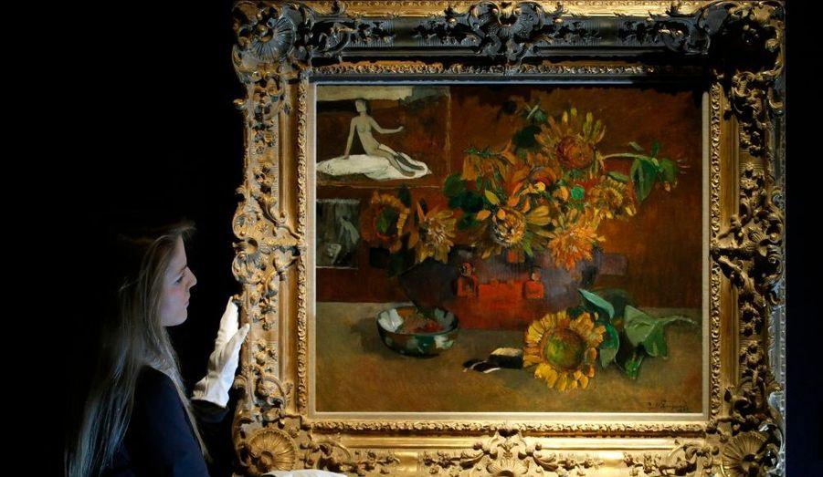 Un tableau peint à la fin de sa vie par le Français Paul Gauguin (1848-1903) en hommage à Vincent Van Gogh a été retiré d'une vente aux enchères mercredi à Londres, faute d'avoir atteint son prix de réserve, a annoncé Christie's. Nature morte à 'l'Espérance devait être le clou de la traditionnelle vente de l'art impressionniste et moderne organisée par la maison d'enchères londonienne. Mais l'œuvre estimée à environ 10 millions de livres (11,7 millions euros) n'a pas atteint son prix de réserve et a été retirée de la vente.