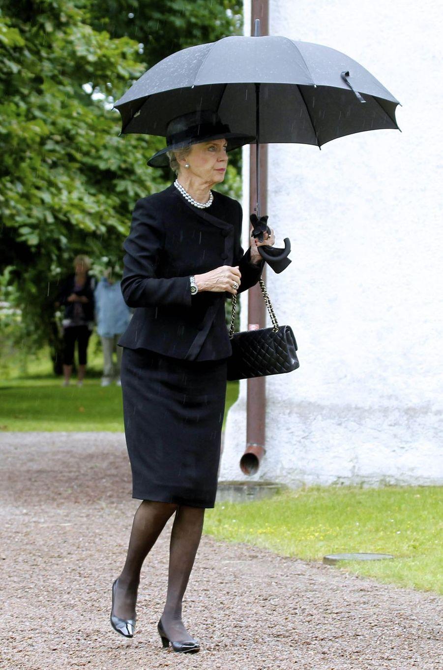 La princesse Benedikte de Danemark à Trolle-Ljungby, le 12 juillet 2017