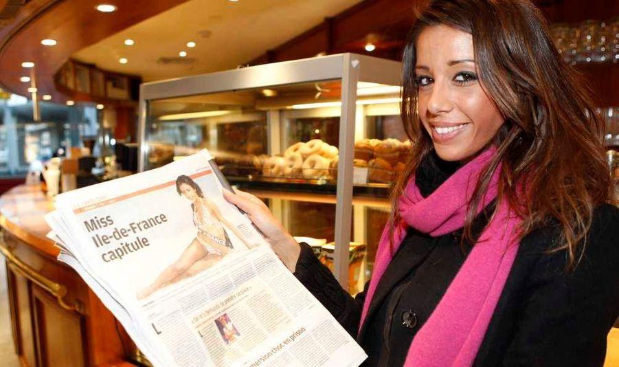 Pauline Darles, Miss Ile-de-France, a décidé d'abandonner le concours Miss France. Elle affirme avoir été insultée par la présidente du comité, Sylvie Tellier.